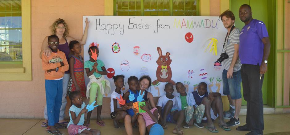 Mammadù Non Profit Organization - Mammadù Trust - Slider Bg Happy Easter from Mammadù