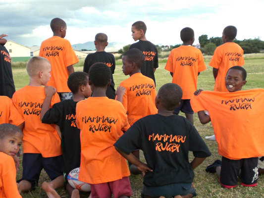 2009 – 2012 SOS KINDERDORF Orphanage – Mammadu Rugby Team
